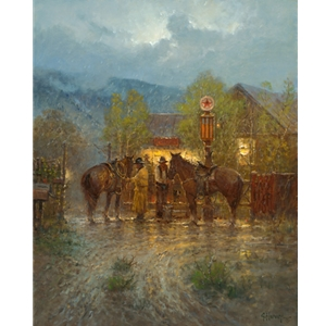 High Mountain Mercantile by G. Harvey