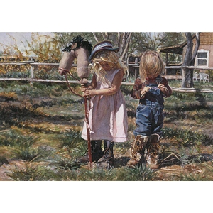 Country Girls by Steve Hanks