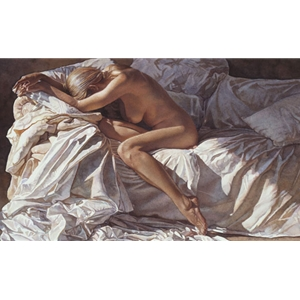 Blending Into Shadows and Sheets by Steve Hanks
