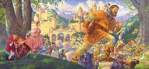 Happily Ever After by fairytale artist Scott Gustafson