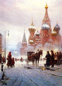Cathedral of St. Basil (Moscow) by G. Harvey