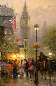 Old London by G. Harvey