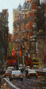 High Kensington Street - London by artist Mark Lague