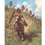 The Honor of Being Pipe Carrier by Howard Terpning