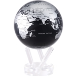 Silver and Black Metallic MOVA® Globe