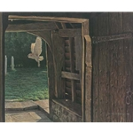 Barn Owl in the Churchyard by Robert Bateman