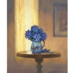 Blue Hydrangeas by Paul Landry