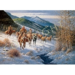 High Country Cowboys by western artist Jack Terry