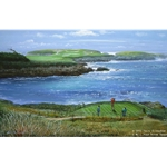 Cypress Point - Sixteenth Hole by Peter Ellenshaw