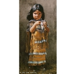 Little Apache - Girl by artist Ray Swanson