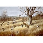 Old Tree Bobwhites by Iowa artist Maynard Reece