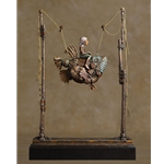 False Magic original bronze by fantasy artist James Christensen