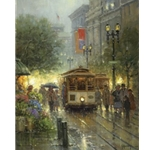 Cable Cars on Powell Street (San Francisco) by G. Harvey
