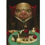 Pig Out by artist William Carman
