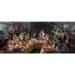 The Covenant - Last Supper by Christian artist James Seward