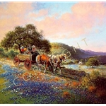 Home From the Fair by western artist Jack Terry