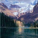 September Afternoon at Lake O'Hara by landscape artist Curt Walters
