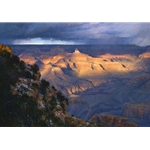 Suddenly Aglow - Grand Canyon by landscape artist Curt Walters