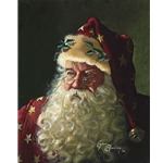 Portrait of Father Christmas by fantasy artist Dean Morrissey