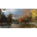 Fall in the Appalachians - Mount Mitchell by landscape artist Phillip Philbeck