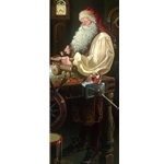 Father Christmas - the Workshop by Santa Claus artist Dean Morrisey