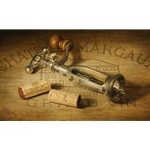 A Cellar Favorite - still life with corkscrew by Kyle Polzin