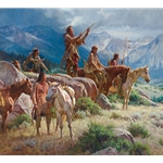 Prayers of the Pipe Carrier - tribal ritual by Martin Grelle