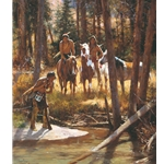 Bear Tracks - hunting the grizzly by Howard Terpning