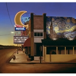 Starry Night Hotel - in Helper, Utah by artist Ben Steele