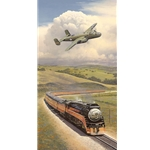 ~ Alameda Bound - Dolittle chases Southern Pacific Daylight by William Phillips