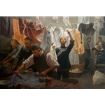 ~ Chinese Family Laundry, 1880 by artist Mian Situ