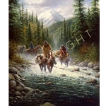 Heading Home by western artist Jack Terry