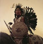 Young Plains Indian by James Bama