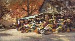 Autumn Market by Paul Landry