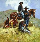 Before the Little Big Horn by Howard Terpning