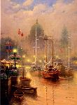 Harbor Fog by G. Harvey