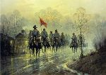 Jeb Stuart's Return by G. Harvey