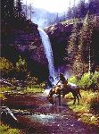 Peaceful Morn by western artist Martin Grelle