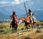 From Days Past by western artist Martin Grelle