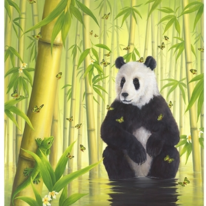 The Bamboo Forest by Robert Bissell