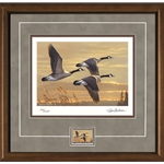 2017-2018 Federal Duck Stamp Print COLLECTOR'S EDITION REGULAR - Geese at Sunset by James Hautman