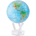 Blue with Relief Map MOVA® Globe