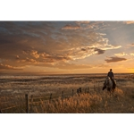 Sunset on the Prairie by Robert Dawson