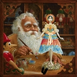 The Gift for Mrs Claus by artist James Christensen