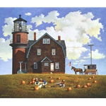 Gay Head Light by Charles Wysocki