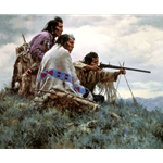 The Long Shot by western artist Howard Terpning