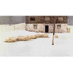 Winter Barn by Robert Bateman