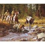 Nectar of the Gods by western artist Howard Terpning