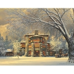 Christmas Eve at the Ahwahnee by William Phillips