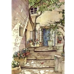 Courtyard Romance by Pomm